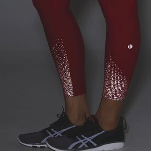lululemon athletica Pants - Lululemon Tight Stuff Tight *Reflective